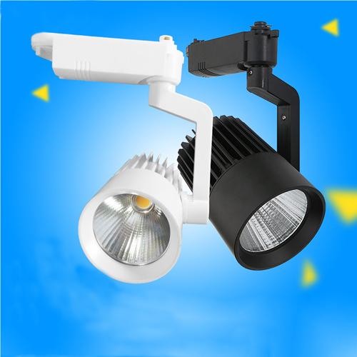 Warm White Anti-Glare LED Track Light