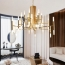 Contemporary Acrylic LED Light Chandelier