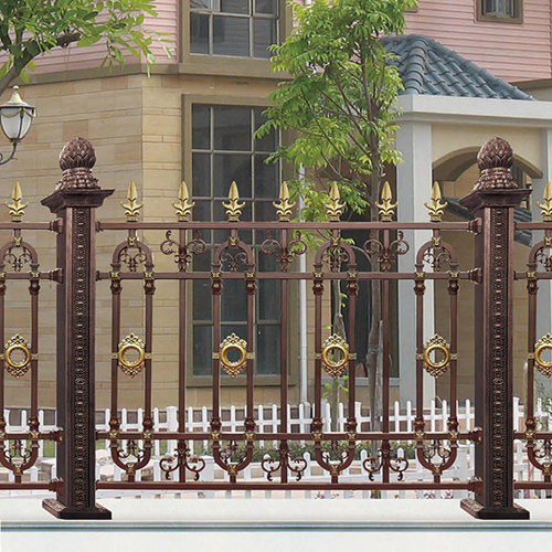 Anti-Theft Aluminum Art Villa Fence