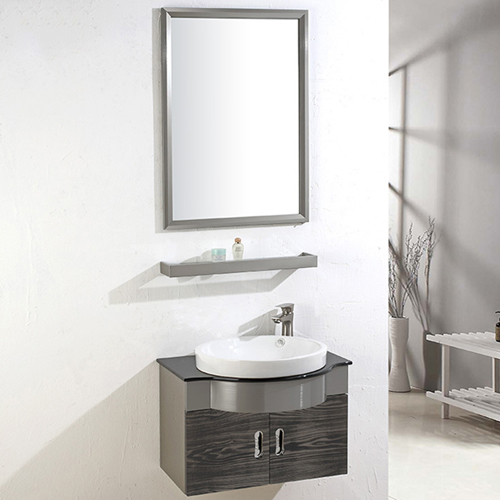 Stainless Steel Mirror Utility Bathroom Cabinet