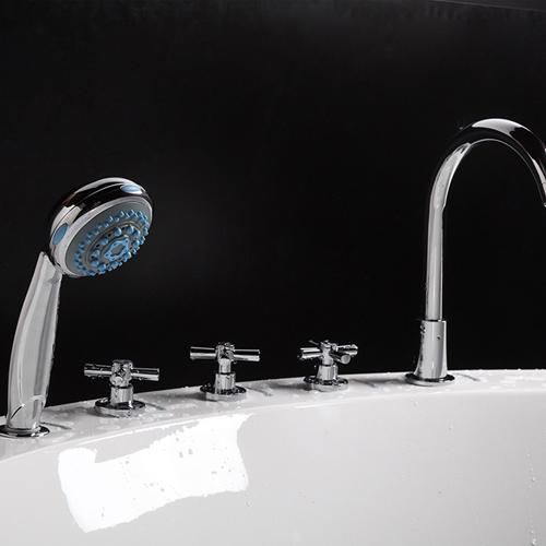 Round Embedded Thermostat Bathtub