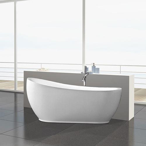 Curve Acrylic Freestanding Bathtub