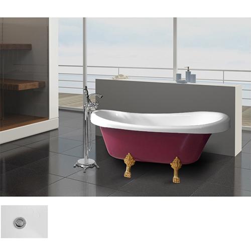 Accent Clawfoot Soaking Bathtub