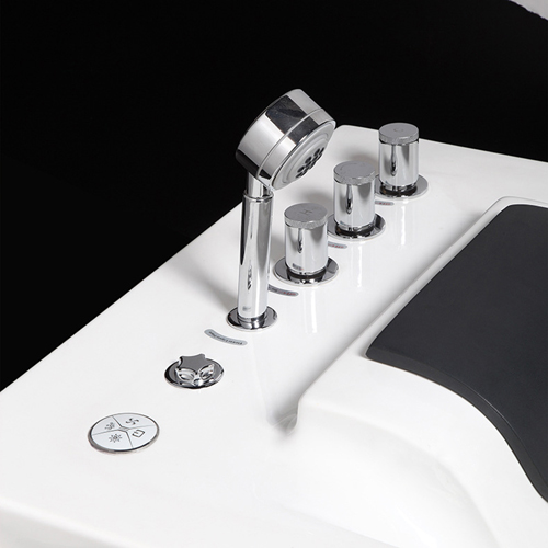 Gloss Finish Acrylic Hot Bathtub