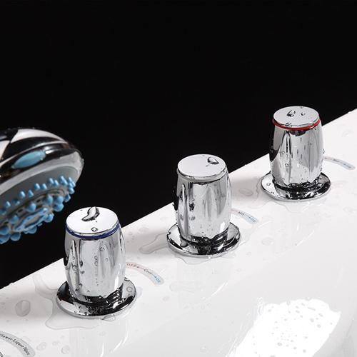 Rectangle Acrylic Spa Massage Bathtub