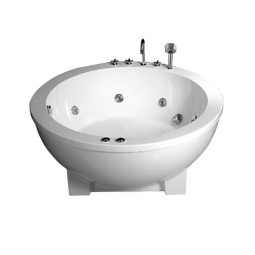 Round Whirlpool Freestanding Bathtub
