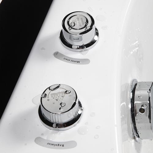 Rectangular Jacuzzi Spa Bathtub