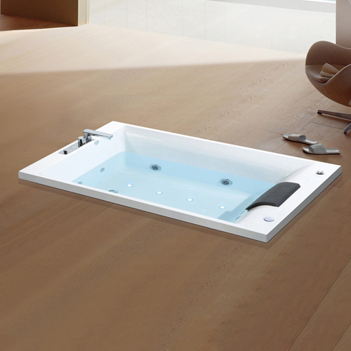 Drop-In Whirlpool Acrylic Massage Bathtub