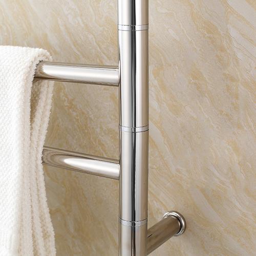 Chrome Swivel Heated Towel Rail
