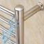 Heated 15 Bar Towels Warmer Rail