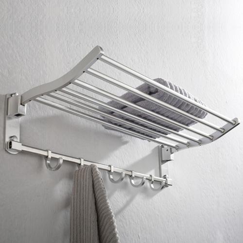 Round Tube Folding Towel Rack
