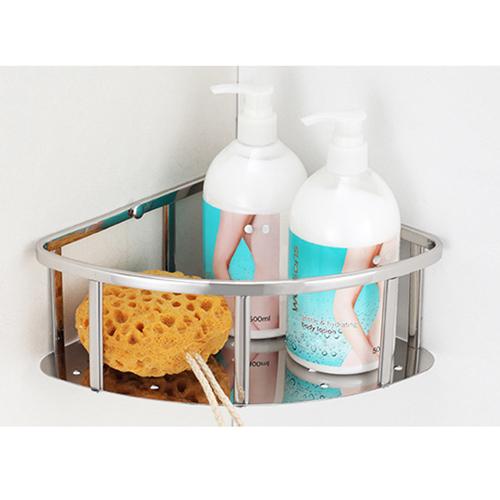 Corner Bathroom Shower Caddy Shelf