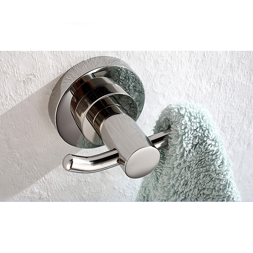 Double Robe Wall-Mounted Towel Hook