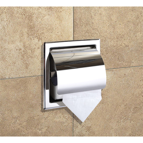 Recessed Wall Roll Toilet Paper Holder