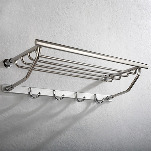 Alpha Stainless Steel Hook Towel Rack