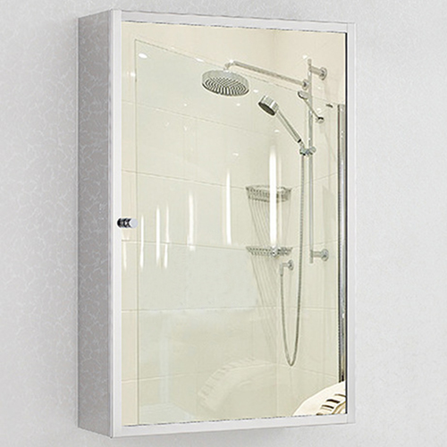 Maxi Stainless Steel Mirror Cabinet