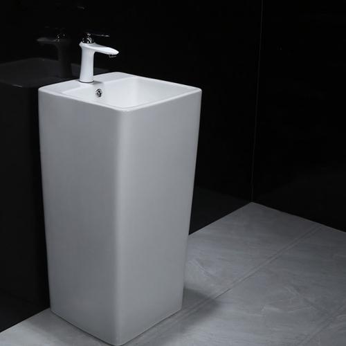 Integrated Ceramic Pedestal Washbasin