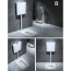 Anti-Blocking Squatting Pan Water Tank Set
