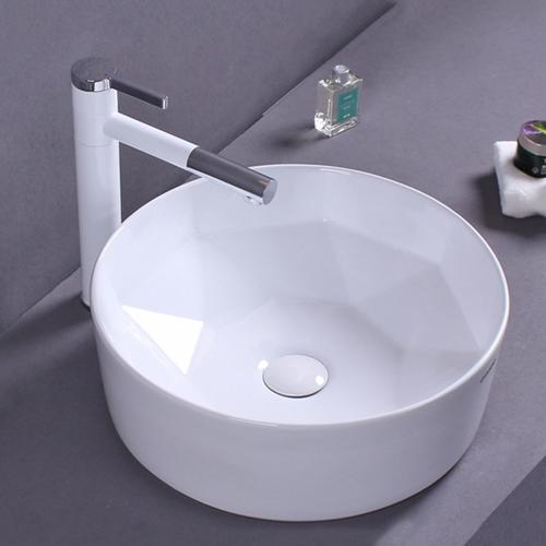 Round Slim Rim Counter Top Wash Basin