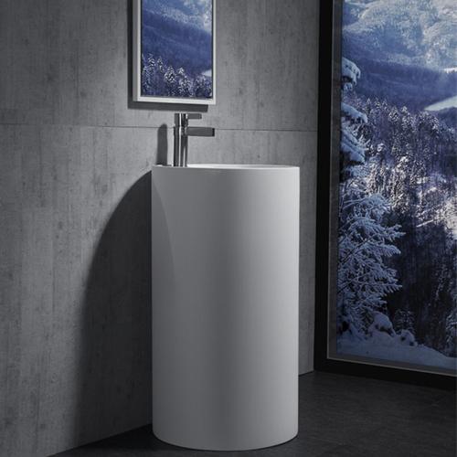 Alfa Pedestal Floor Ceramic Wash Basin