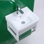 Aluminum Wall Type Hand Wash Basin With Towel Bar