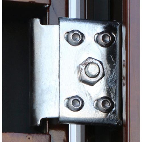 Double Leaf Cold-Rolled Steel Door