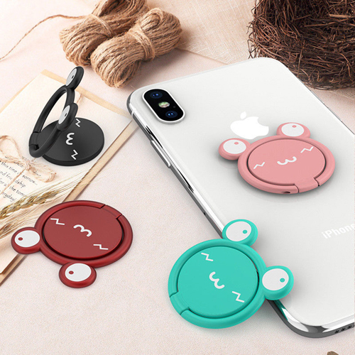 Mobile Phone Ring Holder Cartoon Lazy Man