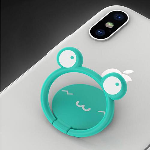 Mobile Phone Ring Holder Cartoon Lazy Man  Image 1