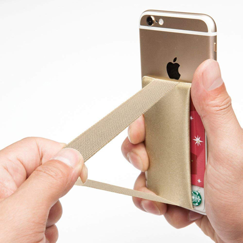 Mobile Phone Grip With Card Wallet Holder Image 9