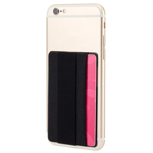 Mobile Phone Grip With Card Wallet Holder Image 1