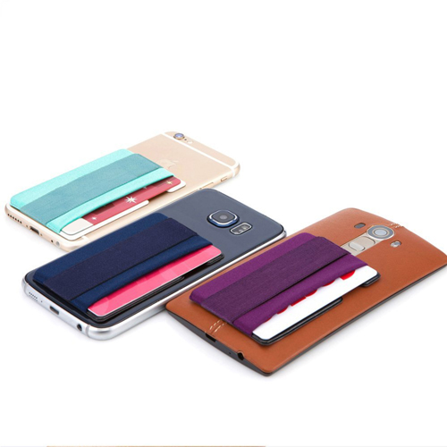 Mobile Phone Grip With Card Wallet Holder Image 2