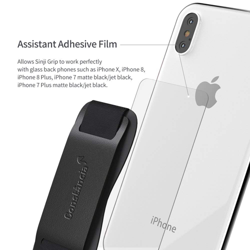 Promotional Leather Mobile Phone Grip Strap Image 3