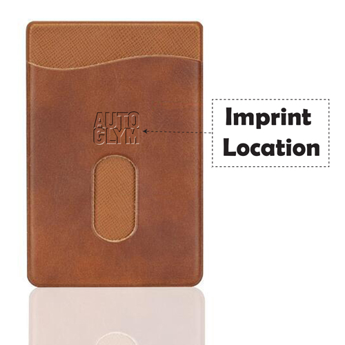 Promotional Adhesive Smartphone Card Holder Imprint Image