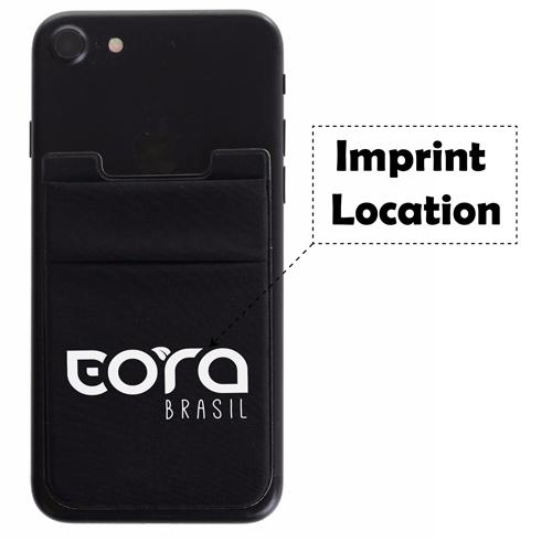 Stretchy Smartphones Card Sleeve Imprint Image