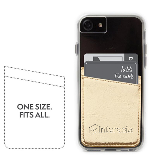Adhesive Mobile Phone Card Wallet Image 1