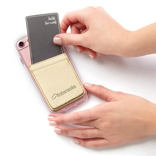Adhesive Mobile Phone Card Wallet Image 3