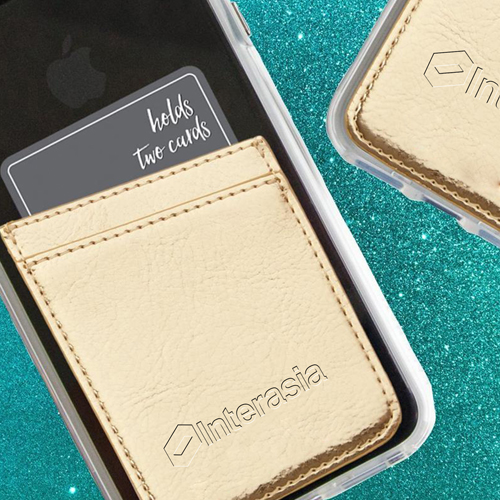 Adhesive Mobile Phone Card Wallet Image 4