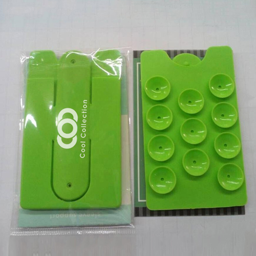 Silicone Suction Smartphone Wallet Stand Image 9
