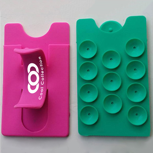 Silicone Suction Smartphone Wallet Stand