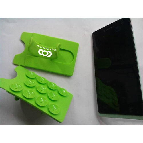 Silicone Suction Smartphone Wallet Stand Image 1