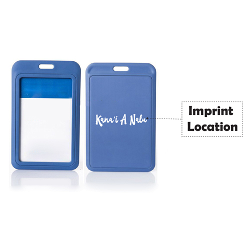 Promotional Business Badge ID Card Holder Imprint Image