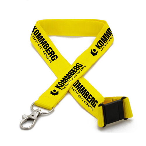 Promotional Neck Tubular Lanyard with Clip Image 2