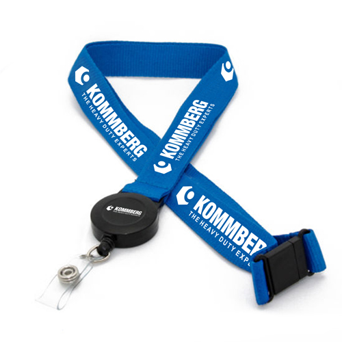 Promotional Neck Tubular Lanyard with Clip Image 4