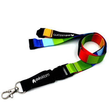 Safety Buckle Sublimation Lanyard