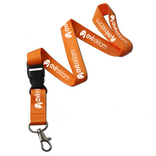 Safety Buckle Sublimation Lanyard Image 1