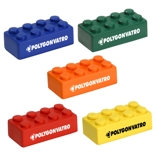 Building Block Shaped Stress Reliever Image 5