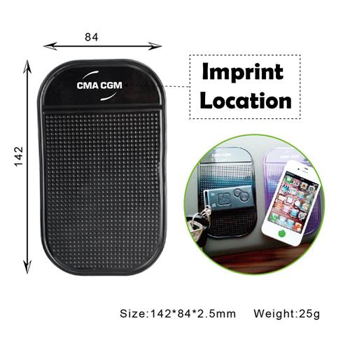 Car Sticky Non Slip Mat Phone Holder Imprint Image