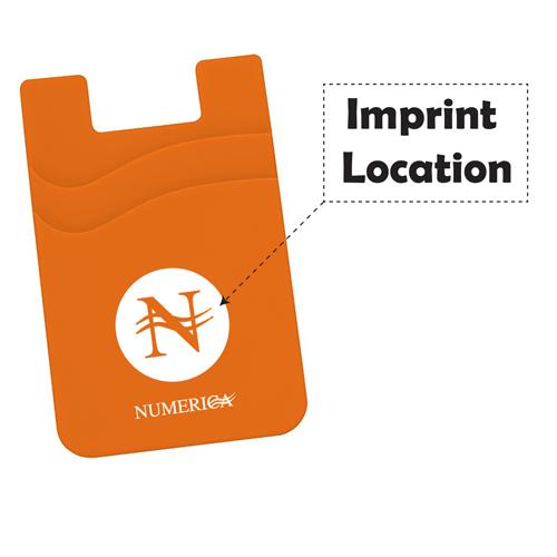 Double Pocket Smartphone Wallet Imprint Image