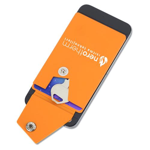 Silicone Smartphone Snap Pocket Wallet Image 2