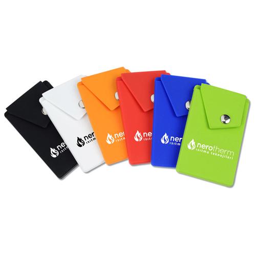 Silicone Smartphone Snap Pocket Wallet Image 4
